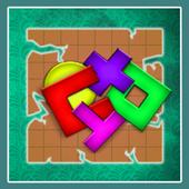 Real IQ Test. Einstein Puzzle. icon