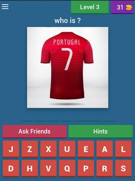 Guess the player Euro 2016 apk screenshot