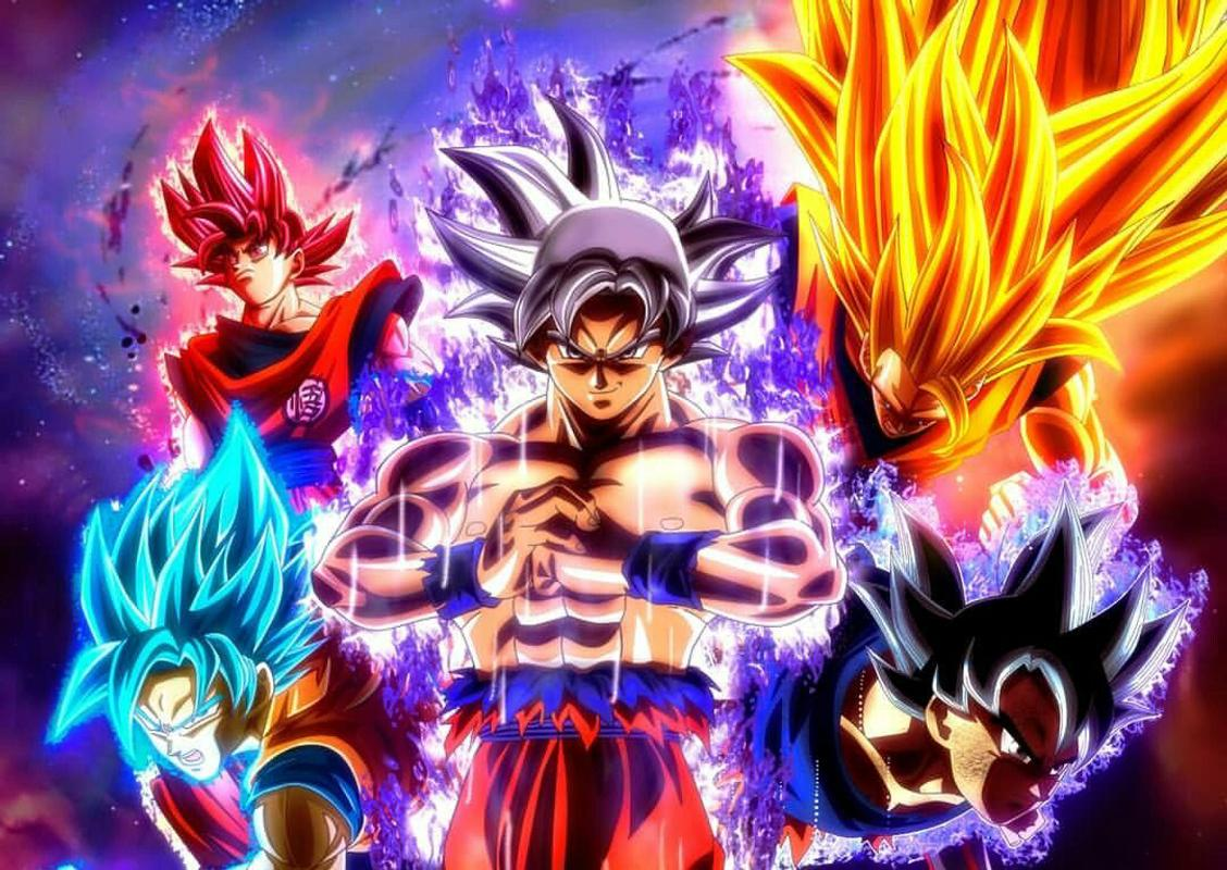 Goku Ultra Instinto Fondos De Pantalla Wallpaper: Goku Mastered Ultra Instinct HD Wallpaper For Android
