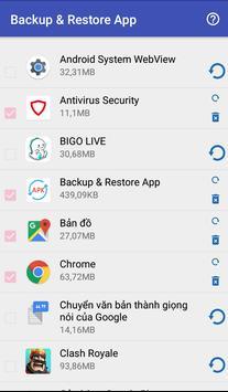 Backup & Restore Application poster