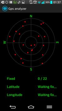 Gps analyzer apk screenshot