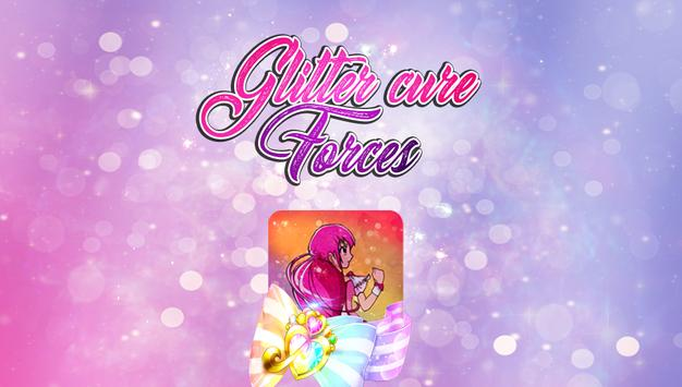 Glitterr Cure Forces poster
