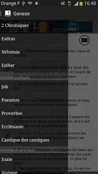 Bible SEGOND gratuite offline poster
