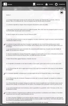 Bible SEGOND gratuite offline screenshot 6