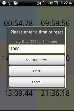 Timer App Beta apk screenshot