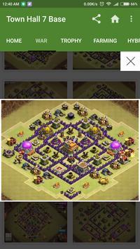 New COC Town Hall 7 Base apk screenshot