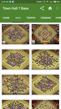 New COC Town Hall 7 Base poster