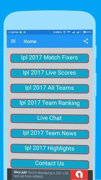 Live Cricket T20 I.P.L 2017 poster