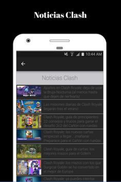 Noticias de clash 24/7- Guías del juego apk screenshot