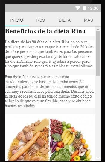 dieta rina 90 menus