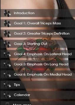 Triceps Workout For Men At Home Gym Screenshot 1