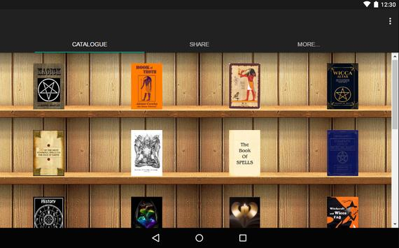 Magic Books catalog poster