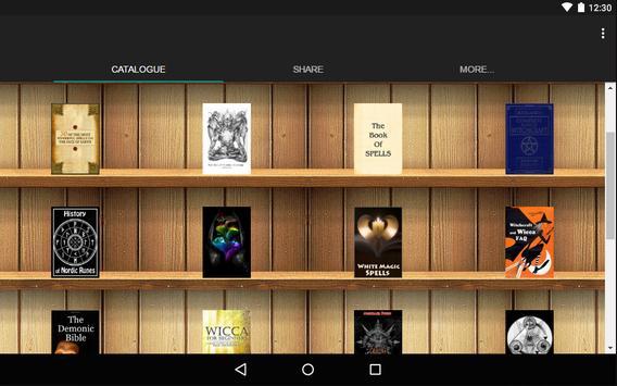 Magic Books catalog screenshot 1