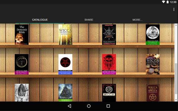 Magic Books catalog apk screenshot