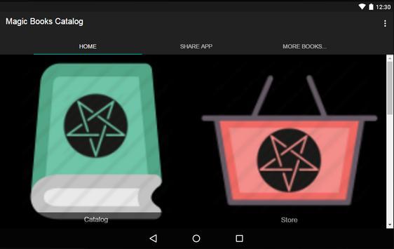Magic Books catalog screenshot 4