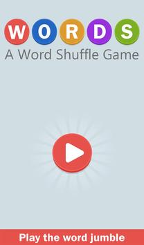 WORDS - A Word Shuffle Game 2018 poster
