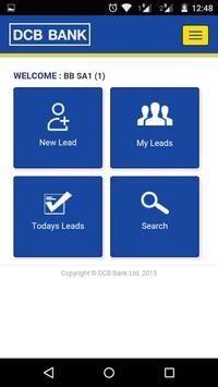 DCB Bank Lead Management App screenshot 2