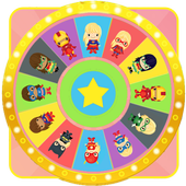 Wheel of Surprise Eggs Superhero Girls: Super Girl icon