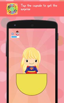 Wheel of Surprise Eggs Superhero Girls: Super Girl apk screenshot