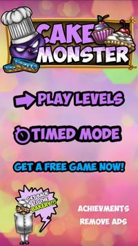Cake Monster apk screenshot