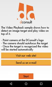 DConsult Virtual Business Card poster
