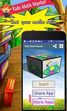 Kids Math Master poster