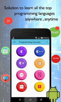 Programming Courses poster
