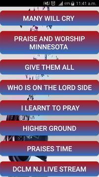 DCLM Choir Ministrations apk screenshot