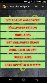 3D Tree Live Wallpaper poster