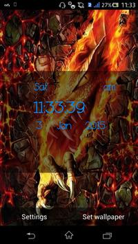 Fire Dragon Live Wallpaper apk screenshot