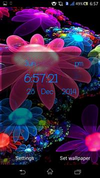 4D Flower Live Wallpaper apk screenshot