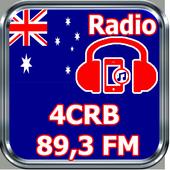 Radio 4CRB 89,3 FM Online Free Australia icon