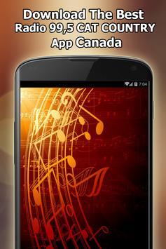 Radio 99,5 CAT COUNTRY Online Free Canada screenshot 11