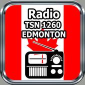 Radio TSN 1260 EDMONTON Online Free Canada icon