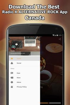 Radio X RADIO ALTERNATIVE ROCK Online Free Canada screenshot 10