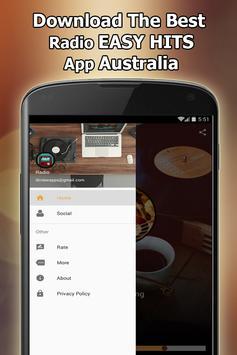 Radio EASY HITS Online Free Australia screenshot 1