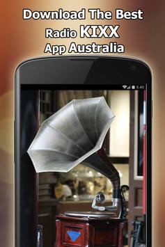 Radio KIXX RADIO Online Free Australia poster