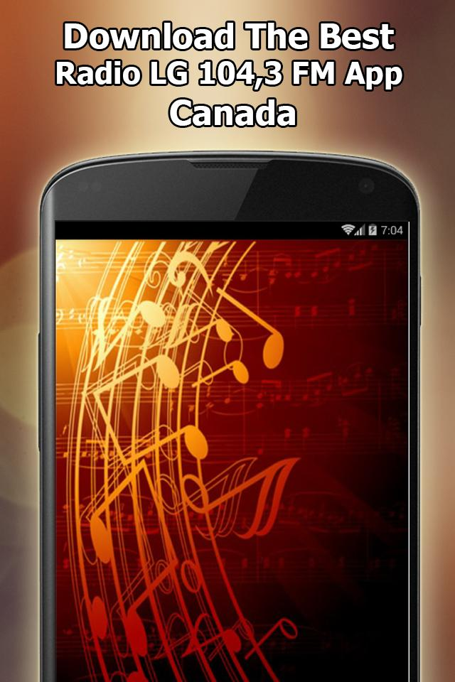 Radio LG 104,3 FM Online Free Canada for Android - APK Download