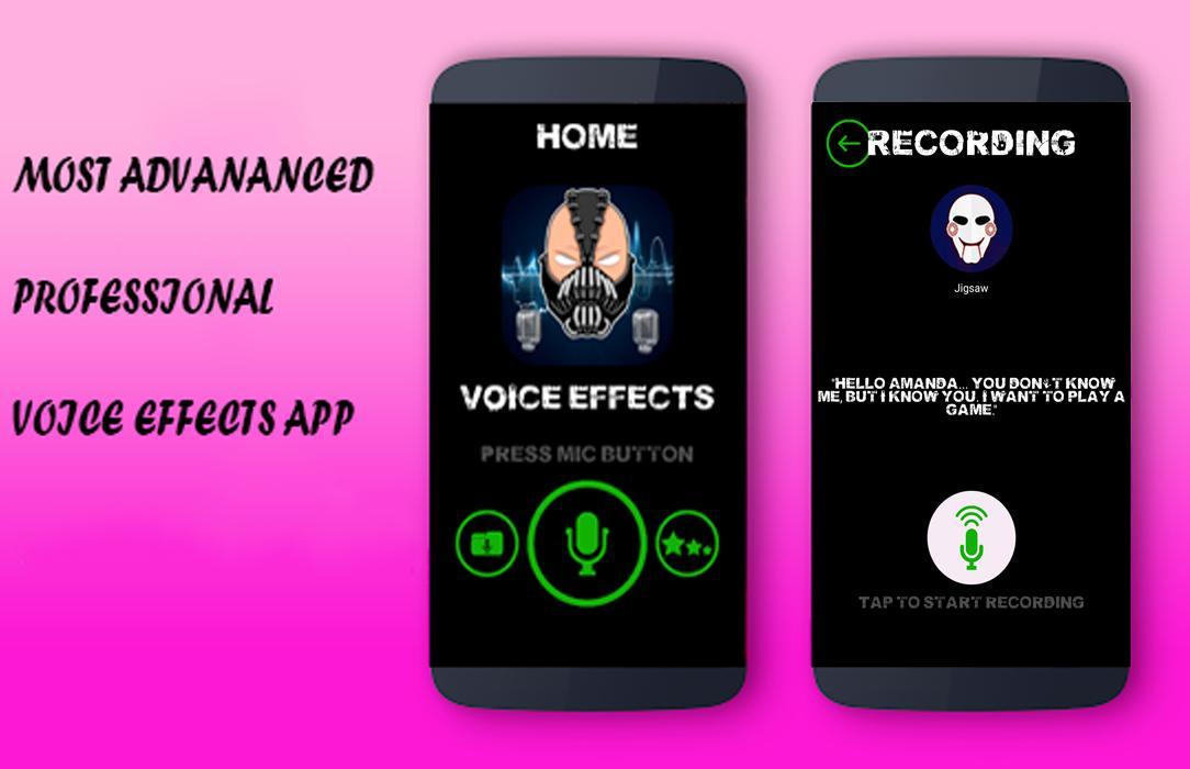 Superhero Voice Effects - Superheros Voice Changer for