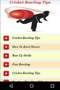 Cricket Bowling Tips Live Videos poster