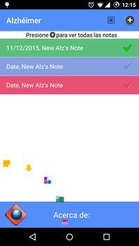 Alzheimer apk screenshot