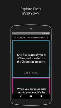Curious - Get Smarter Daily screenshot 1