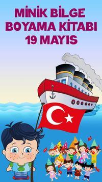19 Mayıs Boyama Kitabı Oyunu poster