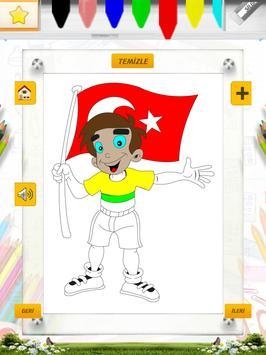 19 Mayıs Boyama Kitabı Oyunu screenshot 8