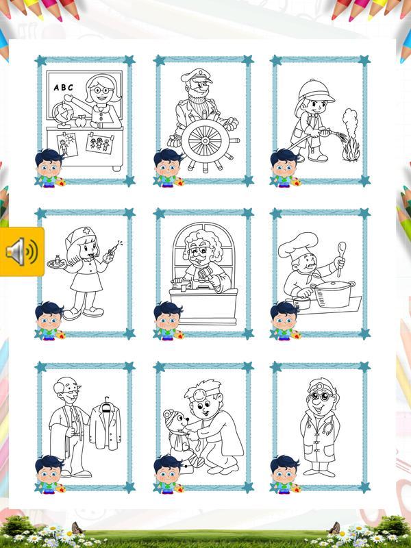 Meslekler Boyama Kitabı For Android Apk Download