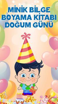 Doğum Günü Boyama Kitabı Oyunu poster