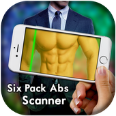 Six Pack Abs Scanner Prank icon