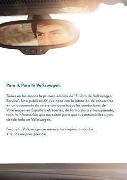 VW Service poster