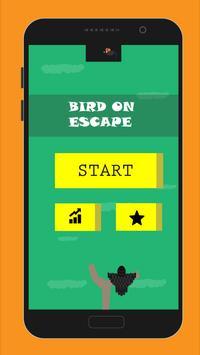 Bird on Escape poster