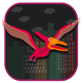 Save Pterosaur - Flying Dinosaur Game icon